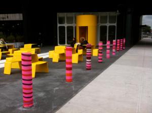 Pics-Knit-Graffiti-Crew-Knitta-Please-Bombs-the-Standard-NYC-2